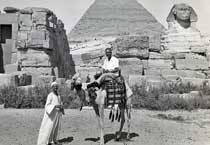 Maurice Dartigue in Cairo, Egypt